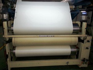 Sublimation paper production 1