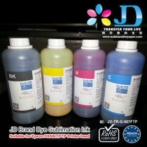 jd sublimation ink