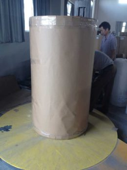 carton packing of sublimation paper jumbo roll